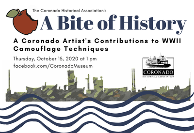 Bite of History: A Coronado's Artists Contributions to WWII Camouflage Techniques