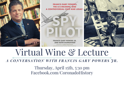 Wine & Lecture: A Conversation with Francis Gary Powers Jr.