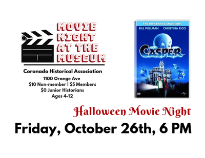 Movie at the Museum: Halloween Edition!
