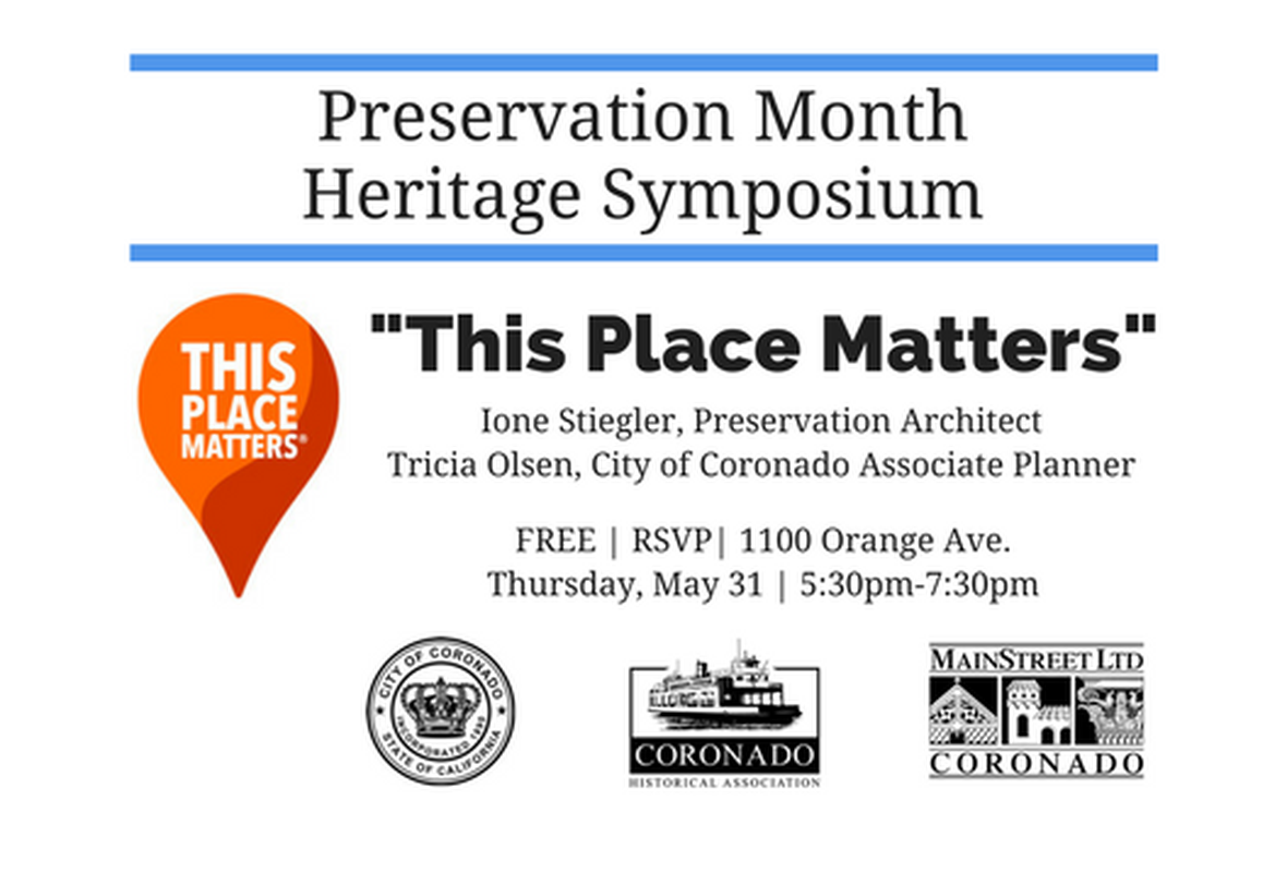 Preservation Month Heritage Symposium  image