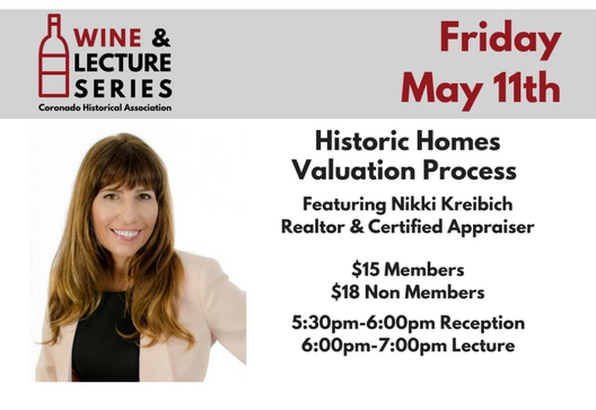 Wine & Lecture: Home Valuation image