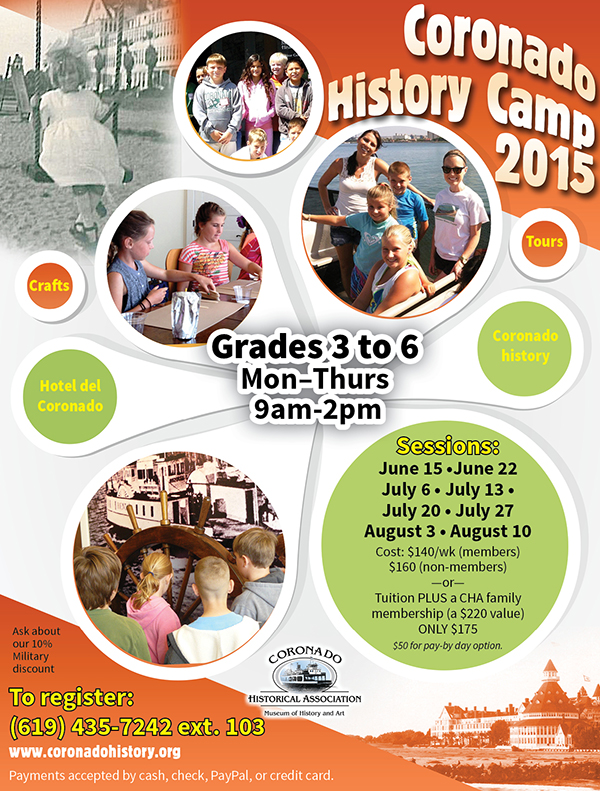New History Camp Flier