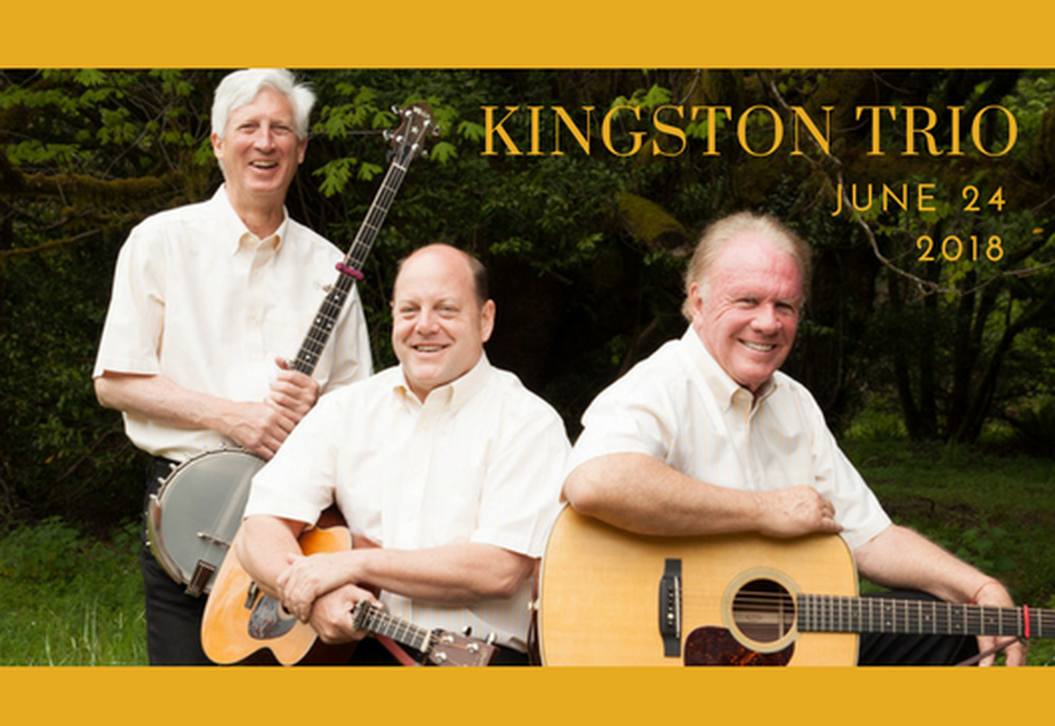 The Kingston Trio is Coming to Town!  image