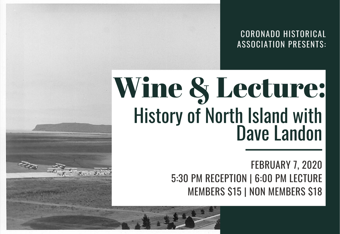 Wine & Lecture: History of North Island with Dave Landon image
