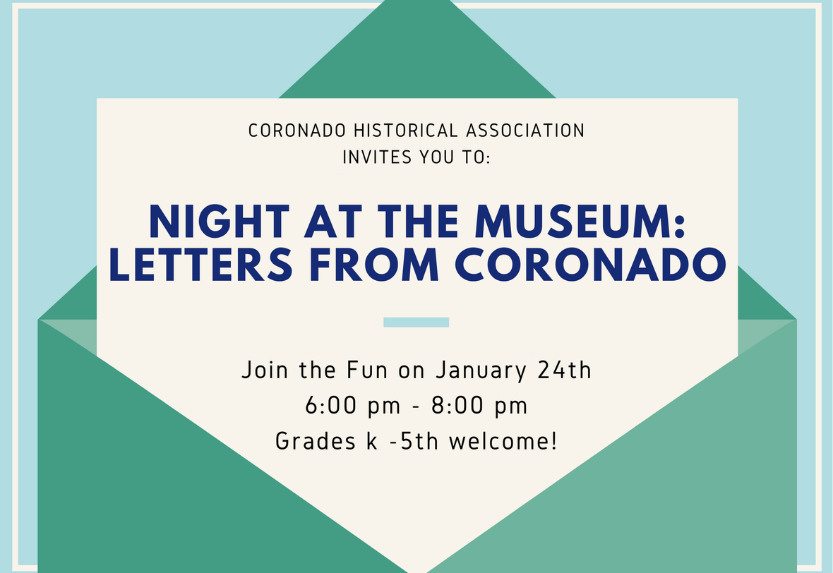 Night at the Museum: Letter Writing! image